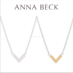 ANNA BECK (ANEW  Reversible Arrow Pendant Necklace